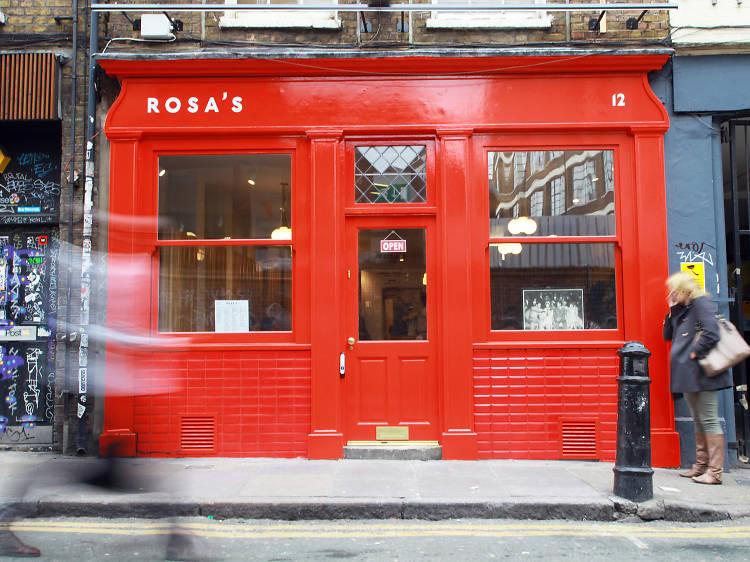 Rosa's Thai Café, pad thai (prawn)
