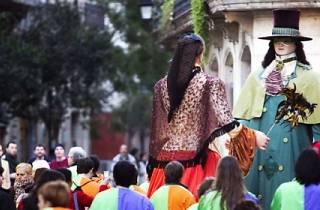 Carnaval 2015: Llegada del Rey Carnaval y Fuegos de Carnaval