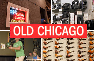 Buy dirty magazines, analog film, pipes and more at these vestiges of bygone Chicago.