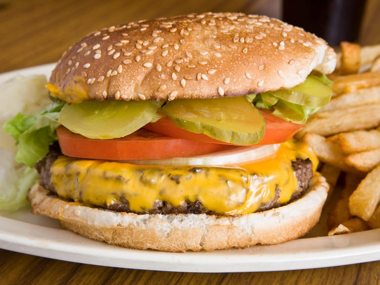 Basic Beef Burger at Top Notch Beefburgers