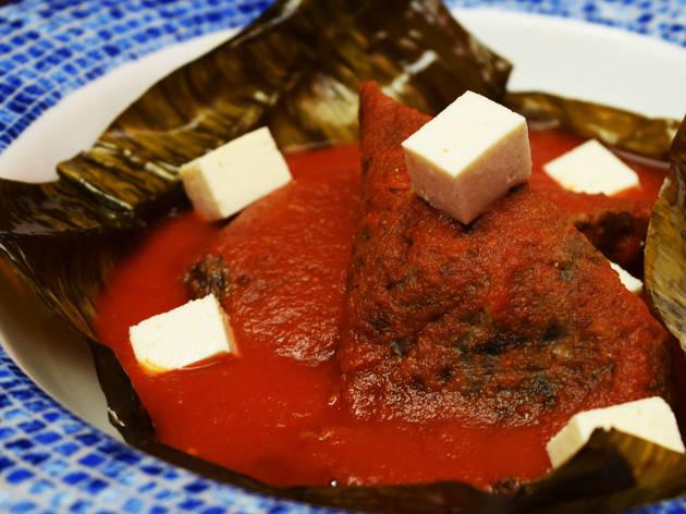 Tamal de frijol y tlalito (Foto: Cortesía Corazón de Maguey)