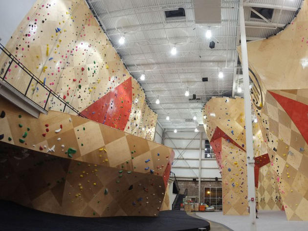 Learn the ropes at Brooklyn Boulders