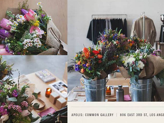Arts District Pop-Up Flower Shop