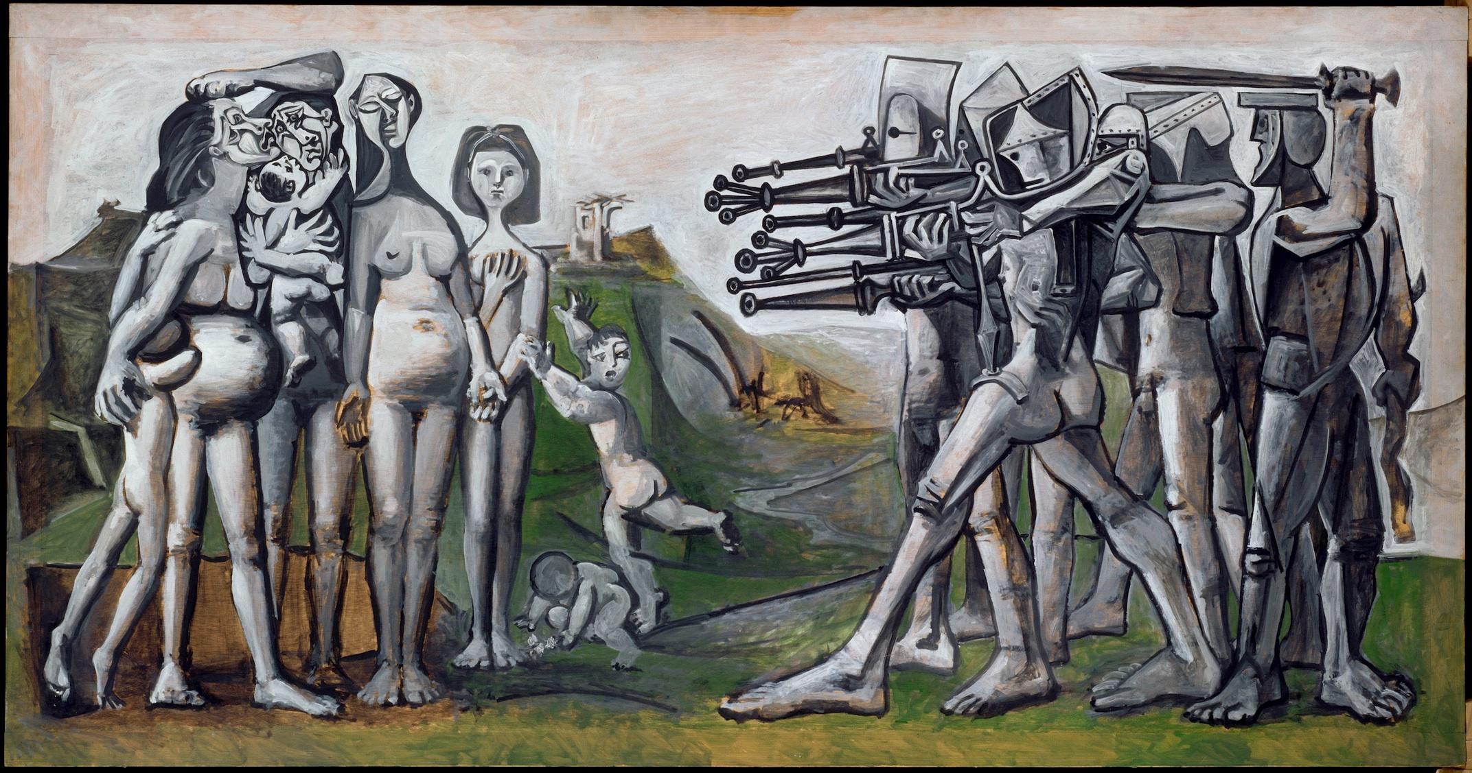 Pablo Picasso : Massacre en Corée