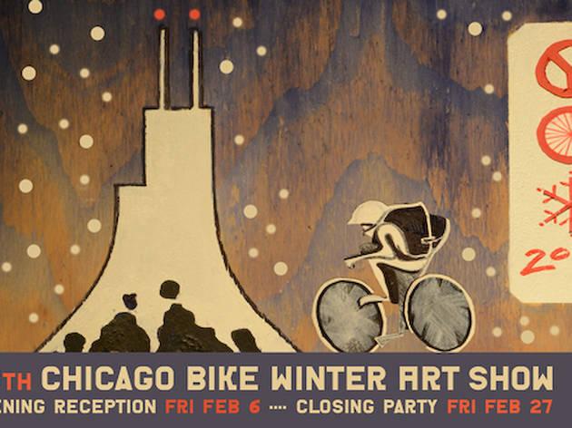 Chicago Bike Winter Art Show