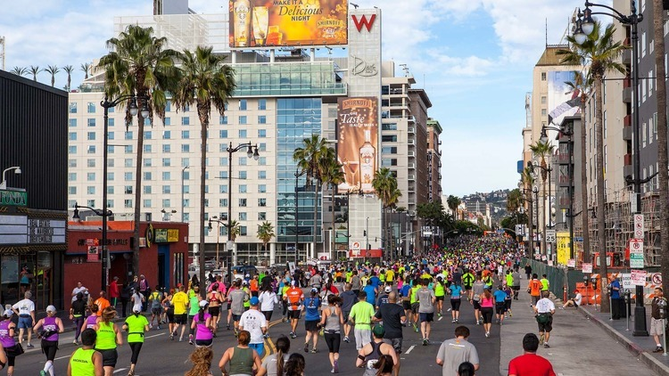 3 great places to get in that LA Marathon training
