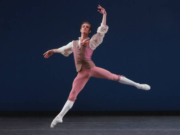 New York City Ballet's Andrew Veyette on the new Justin Peck and the aging male body