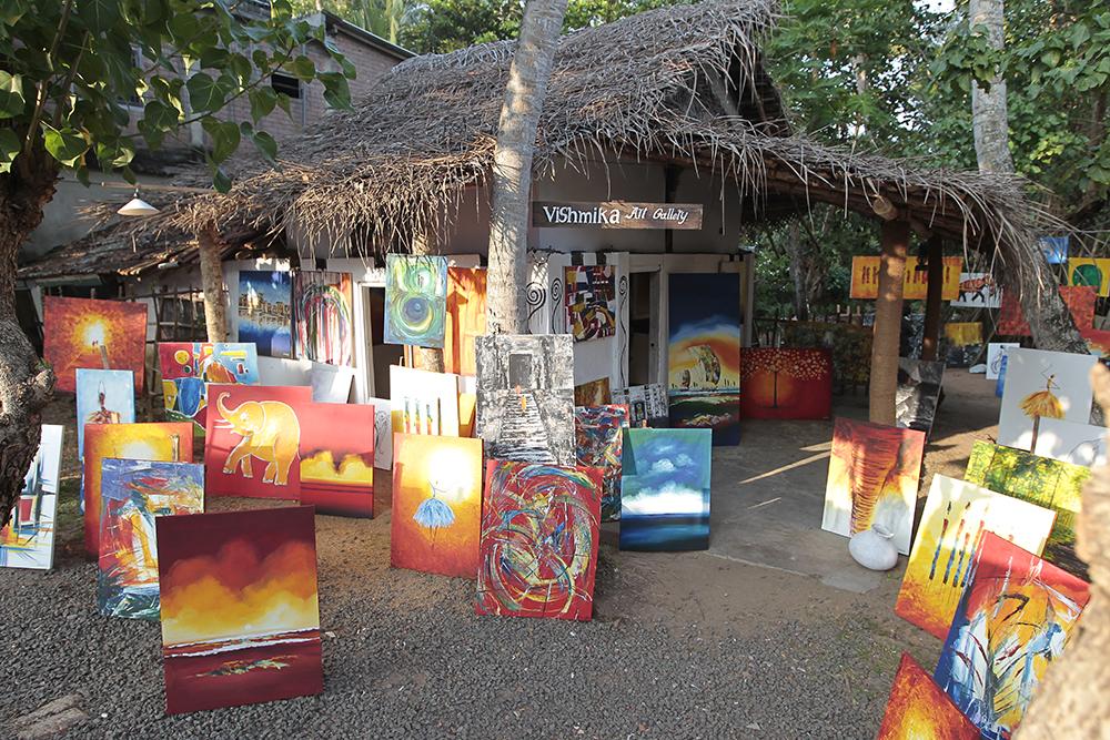 Vishmika Art Gallery is an art gallery in Hikkaduwa