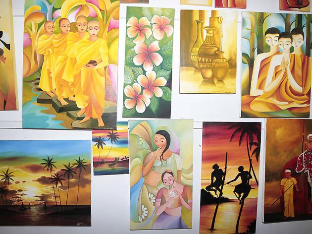 Sun Seen Art Gallery is an art gallery in Hikkaduwa
