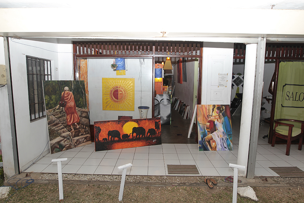 Next World is an art gallery in Hikkaduwa