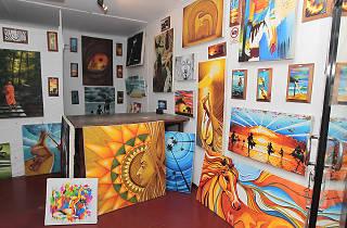 Hikkaduwa art galleries