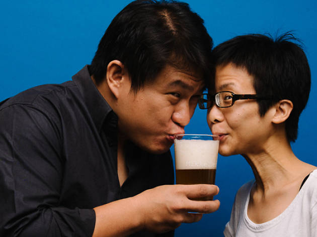 The Drinking Partners - Corrine Chia & Lincoln Goh