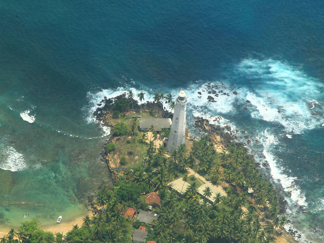 Dondra Head Lighthouse is a lighthouse in Sri Lanka