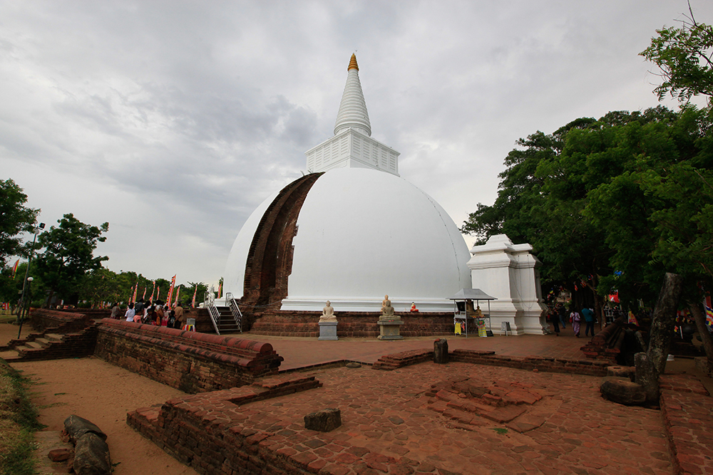 Somawathiya Temple is historic and religious site in Sri Lanka