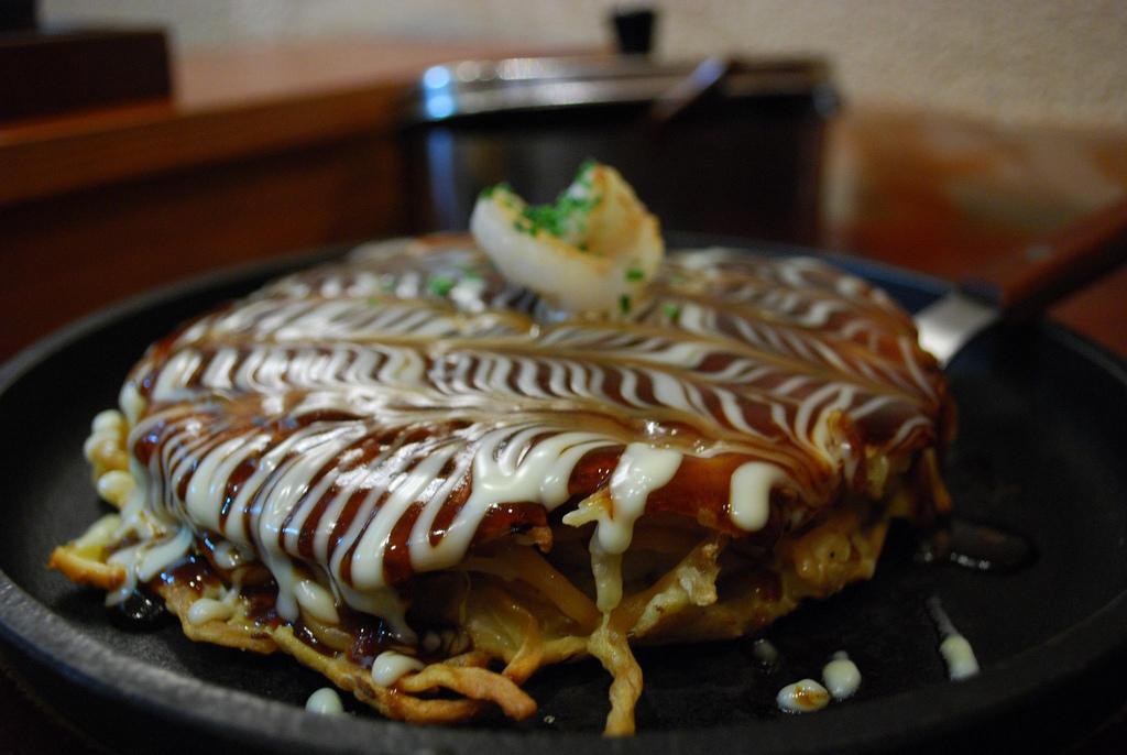 L'okonomiyaki japonais