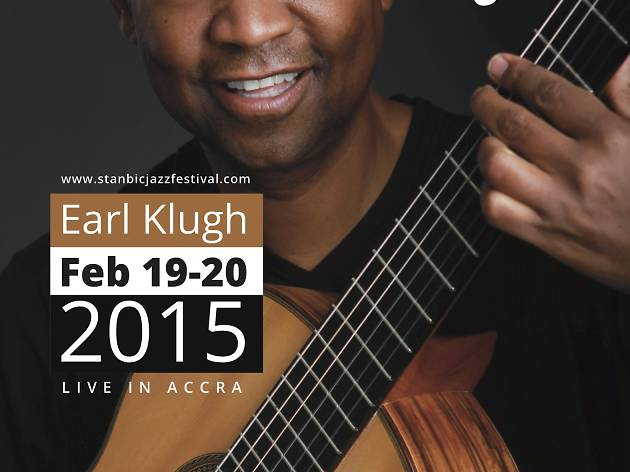 Earl Klugh at International Conference Centre, Accra, Ghana
