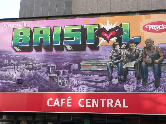 Nelso Street, Graffiti, Tats Crew, Bristol