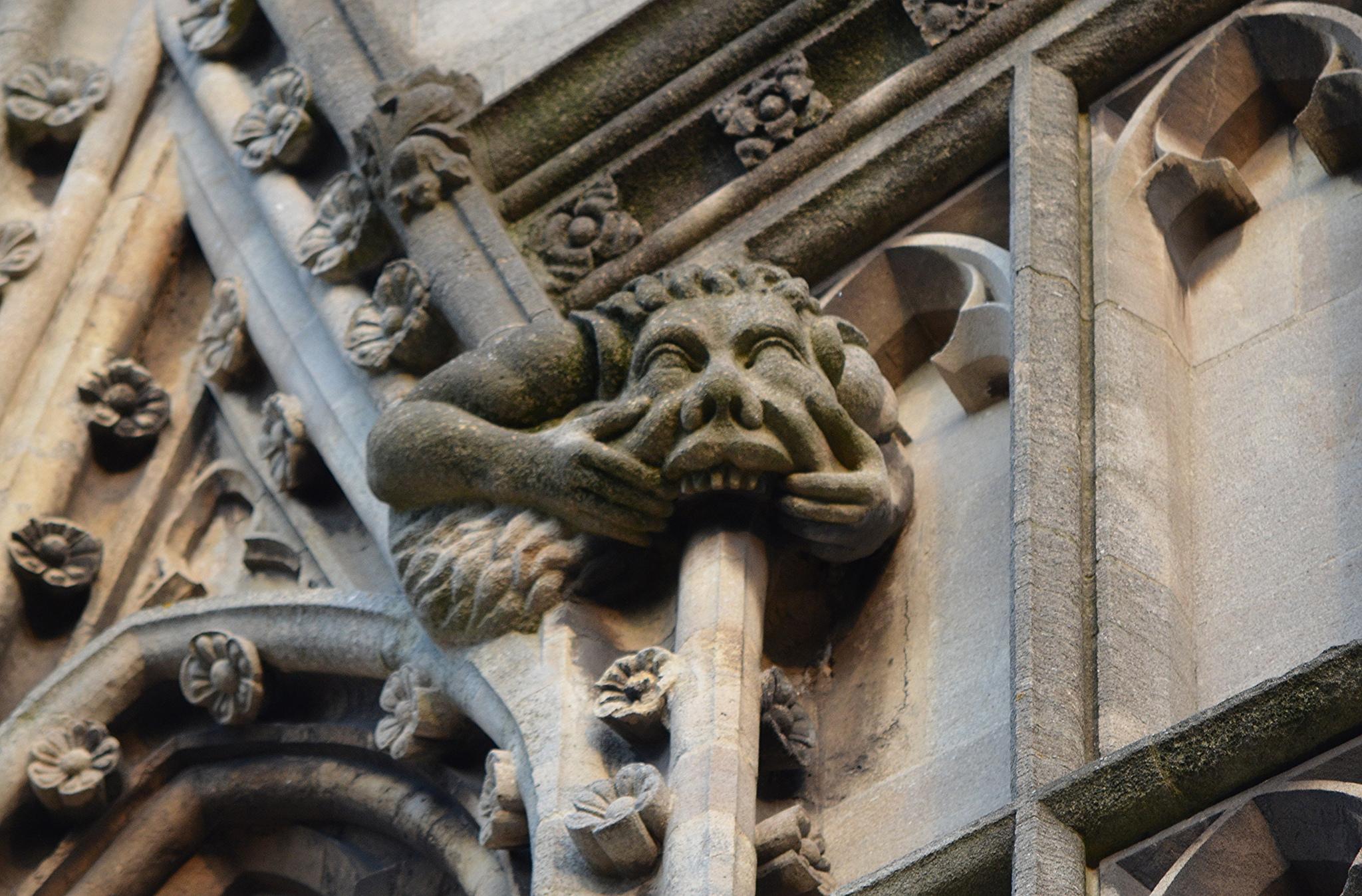 Gargoyle at St Mayr Redcliffe Church, Bristol