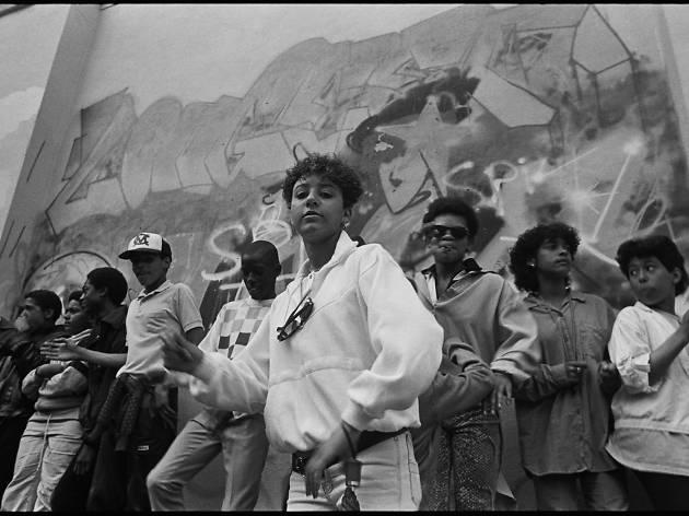Wall Posse B-Girl, St Pauls Carnival, 1986