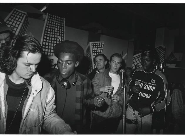 London VS Bristol, Nellee on the decks, Red House, Portland Square, Bristol, 1984