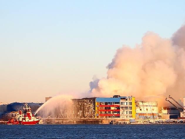 Williamsburg storage fire