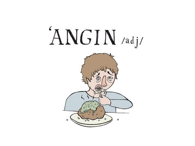 A is for 'angin