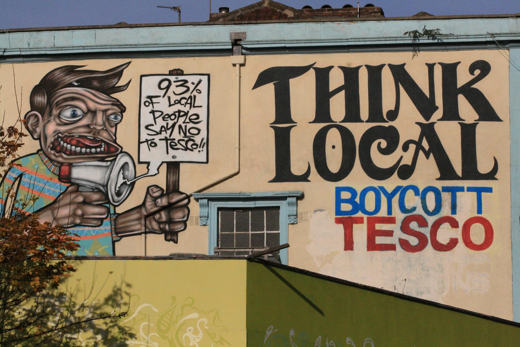 Think Local, Stokes Croft, Bristol, SEPR