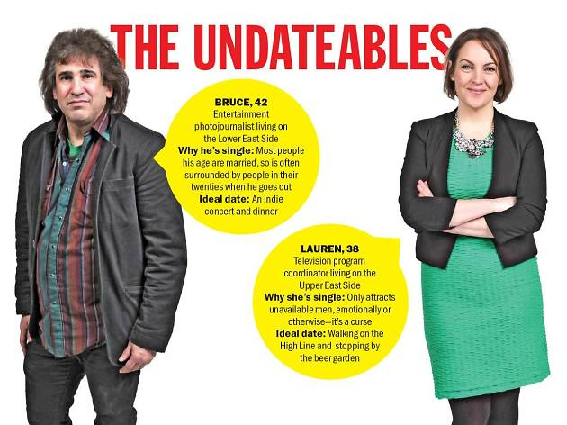 Meet the Undateables: Bruce and Lauren