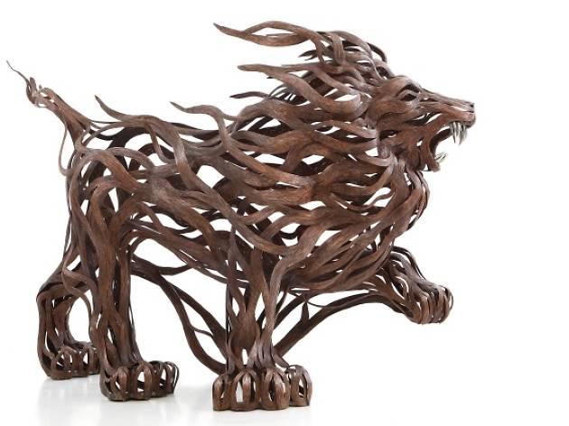Urban Art - Wind Lion