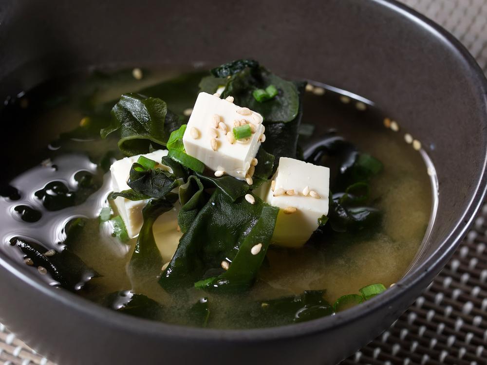 sopa, algues