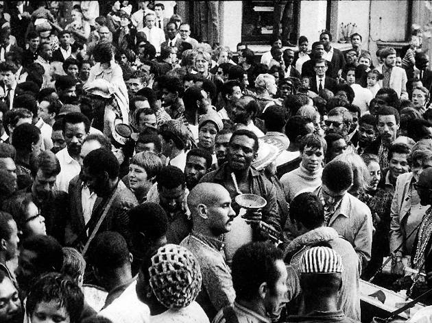 The first ever Notting Hill Carnival, 1968