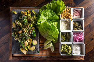 DIRT CANDY brussels sprout tacos