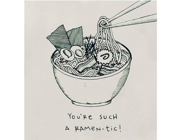 Greet 'N' Potatoes Ramantic card $5, at greetnpotatoes.com
