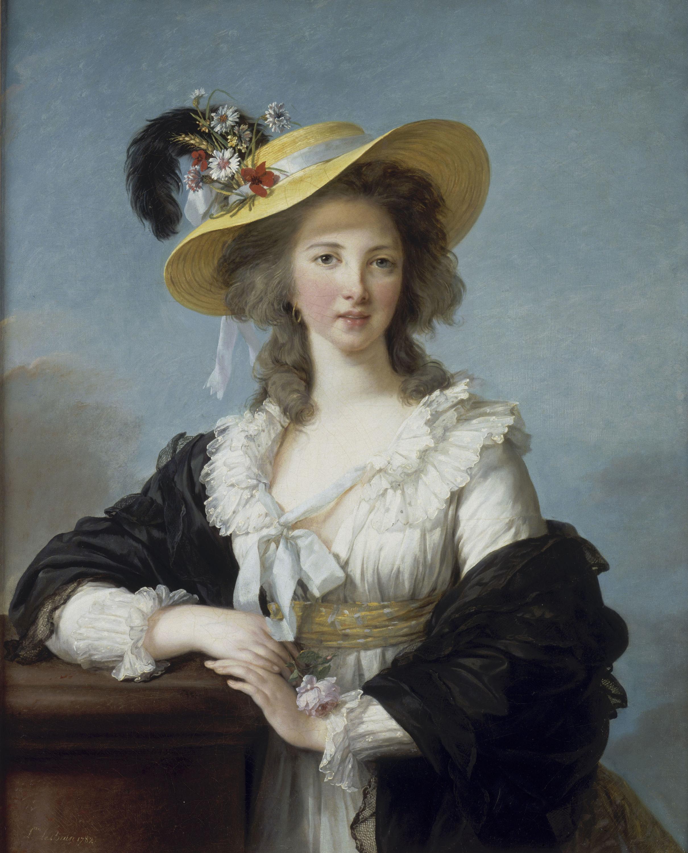 Elisabeth Louise Vigée-Le Brun (1755-1842), Yolande-Gabrielle-Martine de Polastron, duchesse de Polignac (1749-1793), 1782, huile sur toile, 92,2 x 73,3 cm