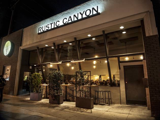 Valentine's Day Dinner at Rustic Canyon