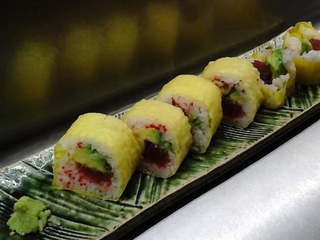 kiku, sushi, japones