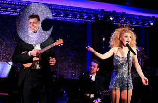 Annaleigh Ashford, right, and music director Will Van Dyke in Lost in the Stars at 54 Below