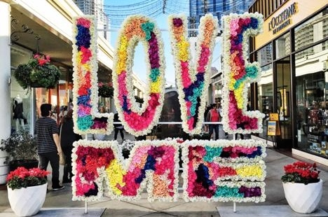 """Curtis Kulig's """"Love Me"""" Campaign at Westfield"""