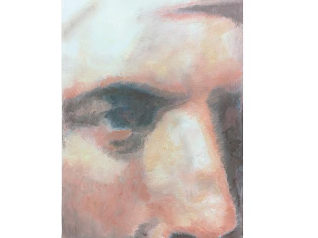 (Luc Tuymans: 'John Robison', 2014, courtesy David Zwirner New York/London)