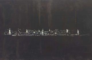 (Luc Tuymans: 'The Shore', 2014, courtesy David Zwirner New York/London)