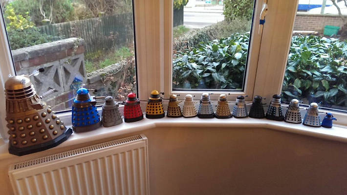 Collections, daleks