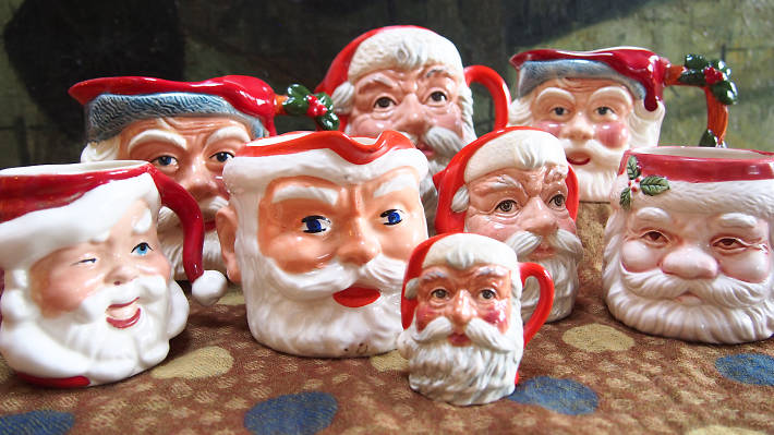 Collections, Father Christmas jugs