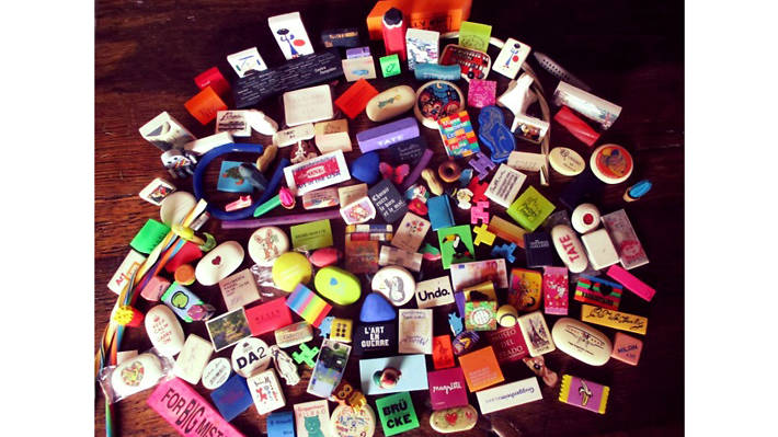 Collections, Novelty rubbers