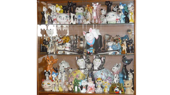 Collections, china cats