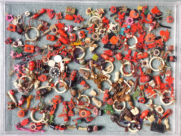 Collections, Japanese Celluloid Kobe Charms
