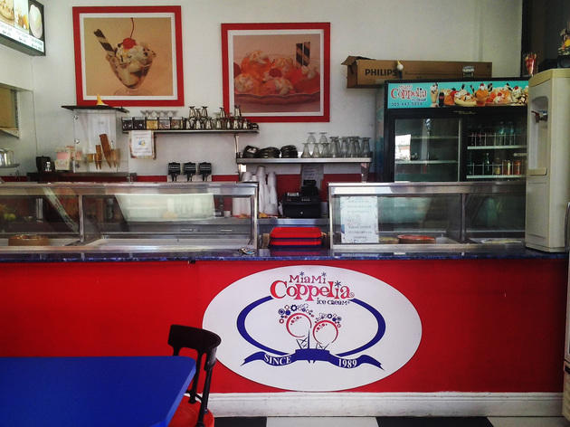 Miami Coppelia Ice Cream