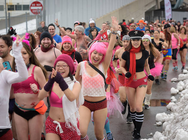 Everything that you should know about the Cupid Undie Run