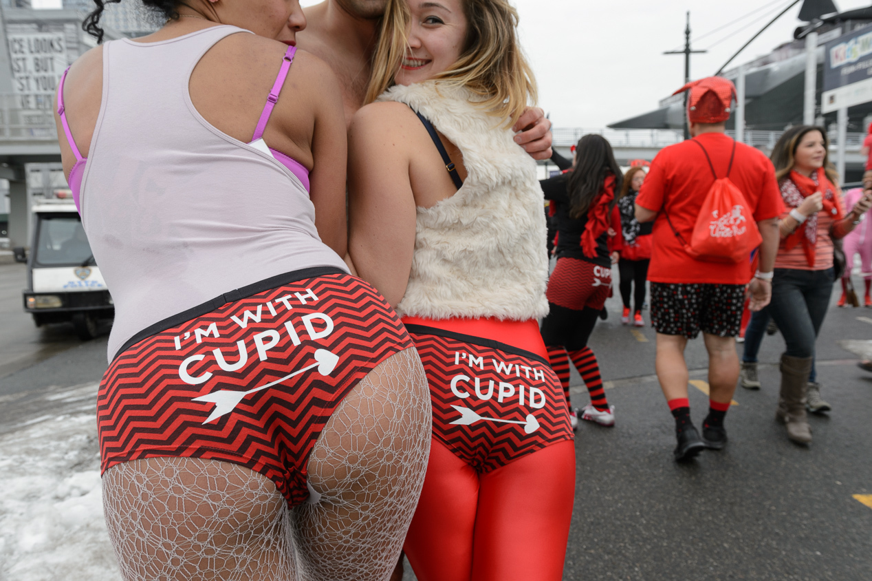 Photos of the 2015 Cupid's Undie Run in NYC
