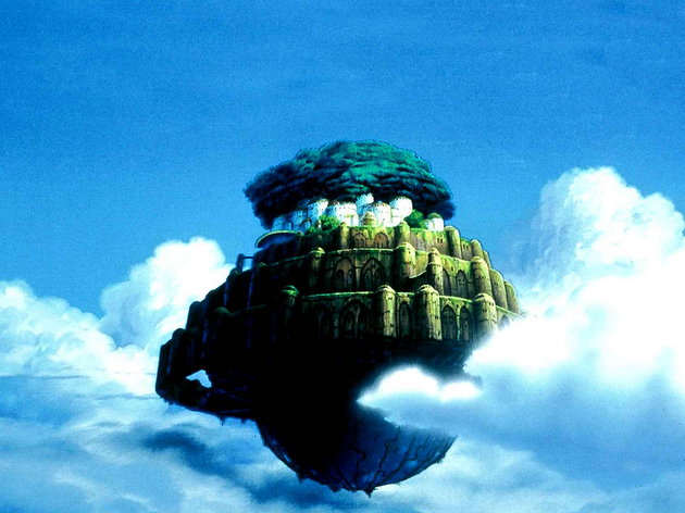 (Hayao Miyazaki, 'Le Château dans le ciel', 1986)