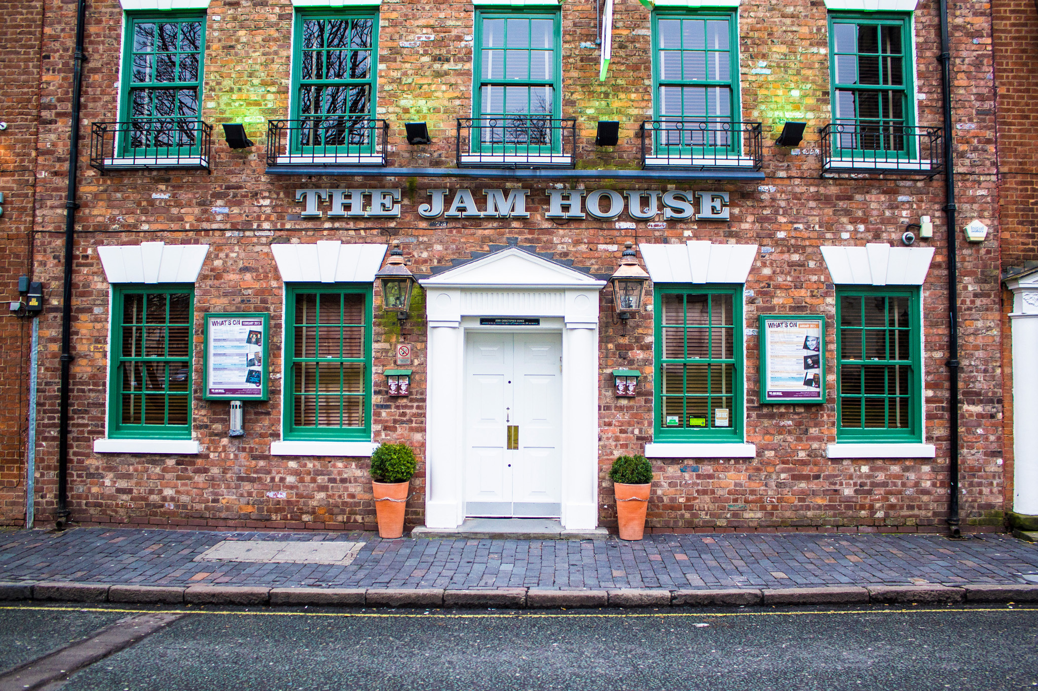 The jam house, venue